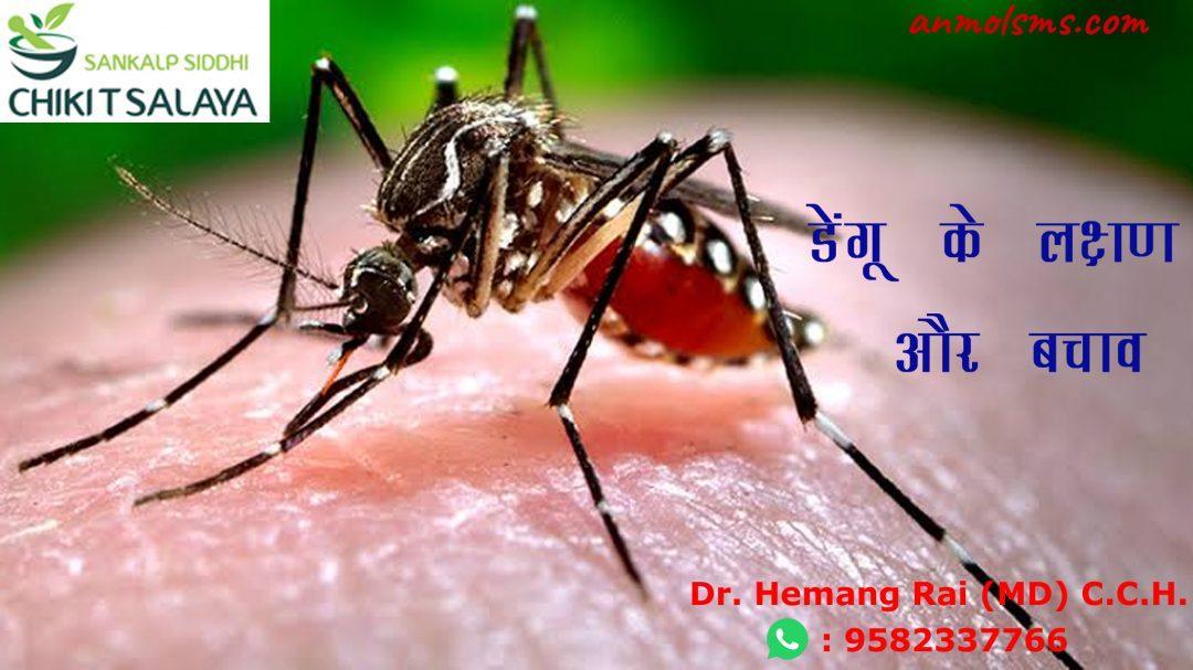 डेंगू के लक्षण और बचाव